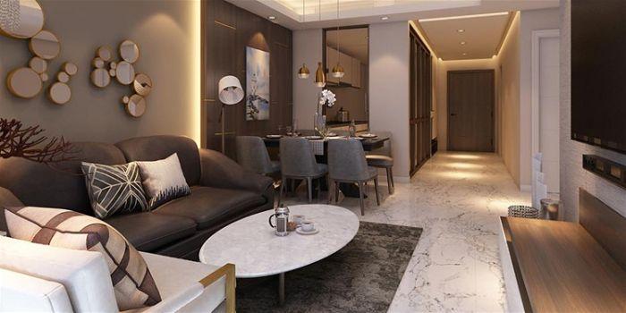 Lưu ý khi thuê công ty thiết kế thi công nội thất trọn gói căn hộ gia đình