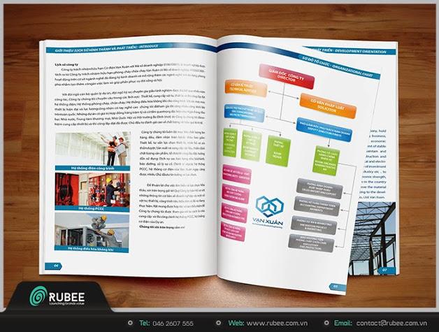 thiết kế  hồ sơ năng lực công ty cơ điện