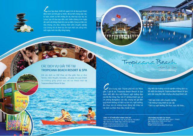 Mẫu brochure du lịch