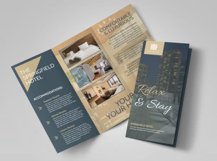 Mẫu brochure khách sạn