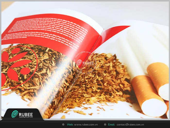mẫu thiết kế kỷ yếu thuốc lá thanh hóa