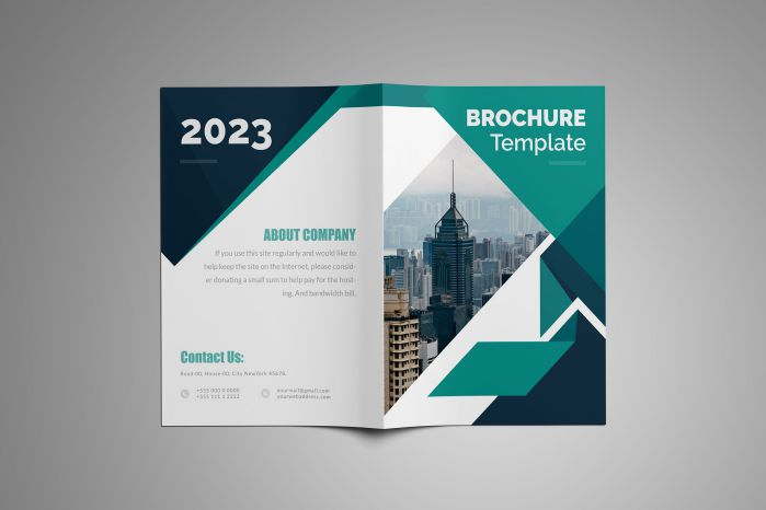 thiết kế brochure