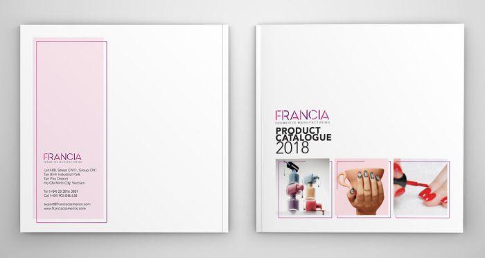 Thiết kế catalogue mỹ phẩm