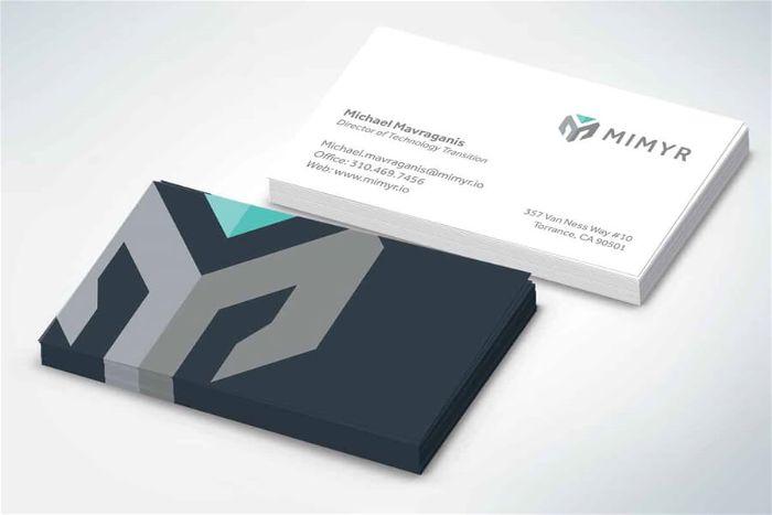 mẫu thiết kế name card ấn tượng