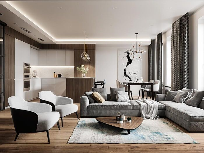 Thiết kế nội thất sang trọng