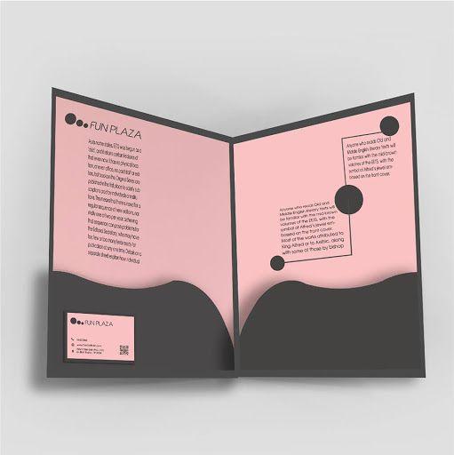 Bìa đựng hồ sơ 2 tai gấp