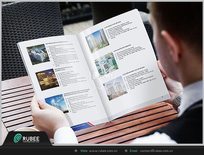 Công ty biên tập, thiết kế và in ấn profile công ty xây dựng trọn gói