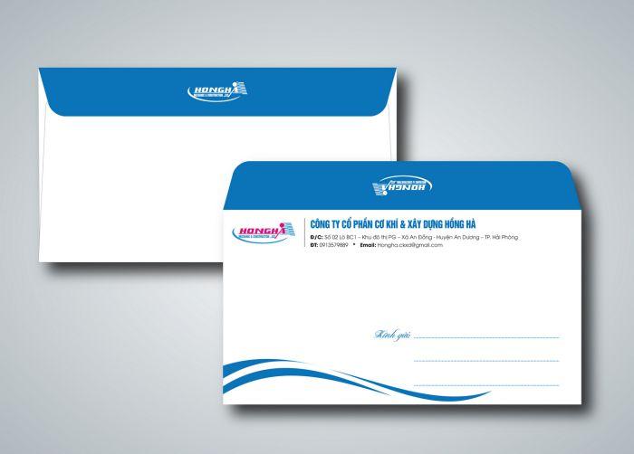 mẫu phong bì thư công ty