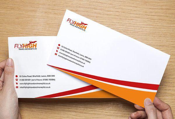 mẫu phong bì thư