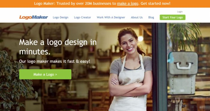phần mềm thiết kế logo logo maker