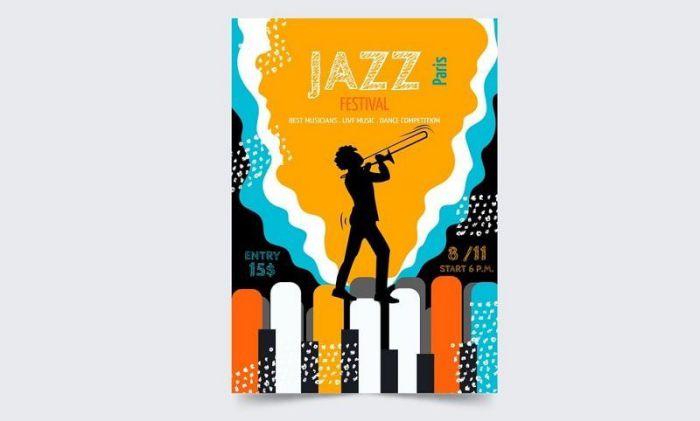 mẫu poster âm nhạc