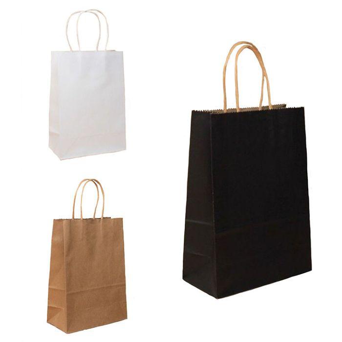 Các kích thước túi giấy phổ biến