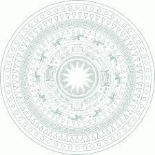 mẫu hoa văn trống đồng vector 2