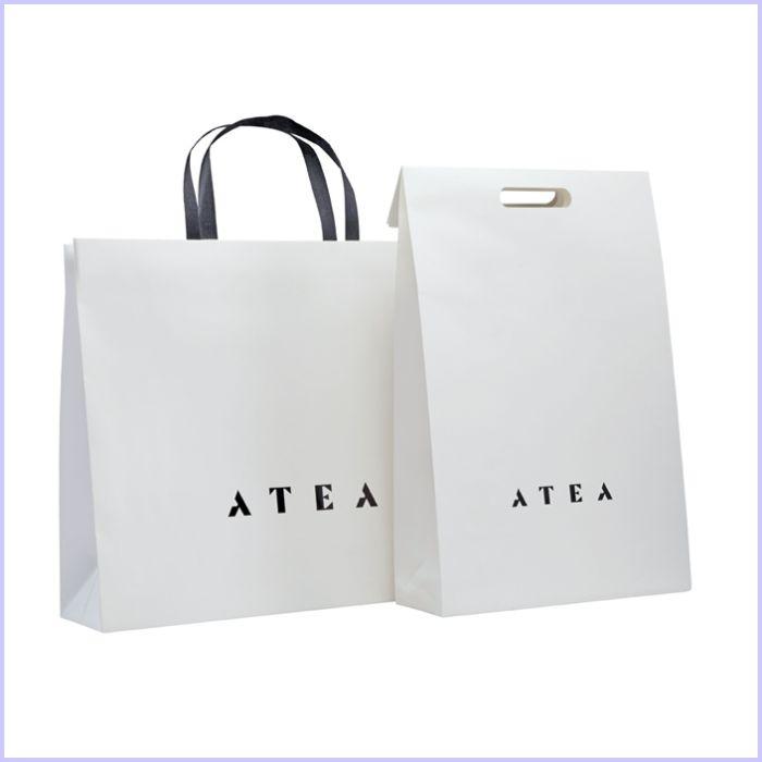 mẫu túi giấy sử dụng giấy couche