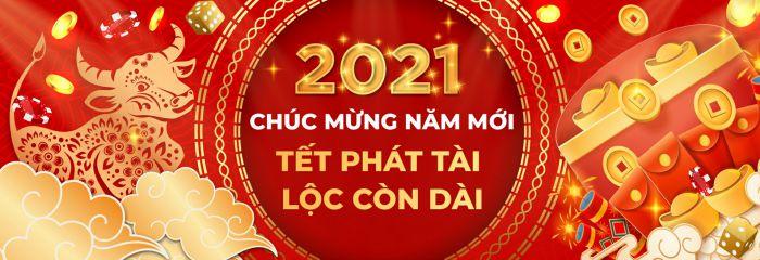 Mẫu banner chúc mừng năm mới ấn tượng