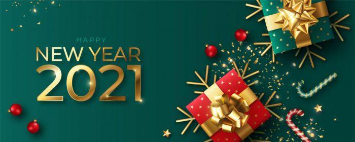 Mẫu banner chúc mừng năm mới chuyên nghiệp