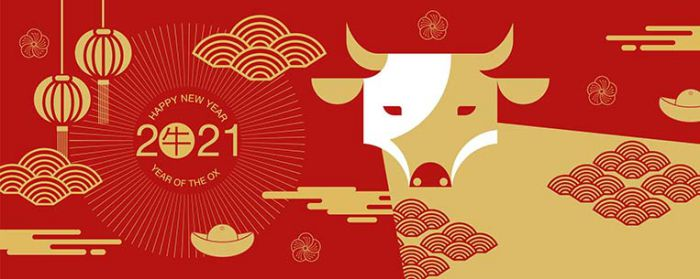 Mẫu banner chúc mừng năm mới đẹp