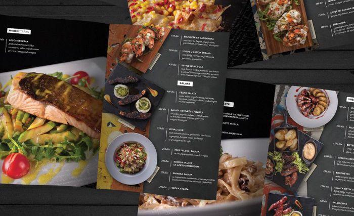Nguyên tắc thiết kế menu