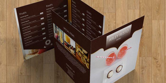 Dịch vụ thiết kế menu tại Rubee