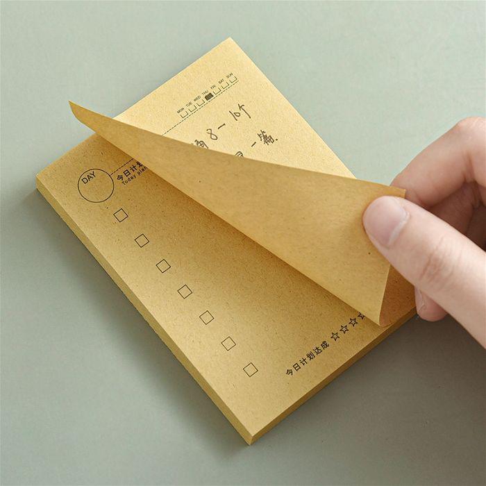 Cách xé giấy ghi chú chuẩn