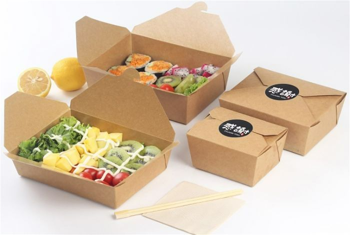 Lợi ích của việc dùng hộp giấy đựng thức ăn