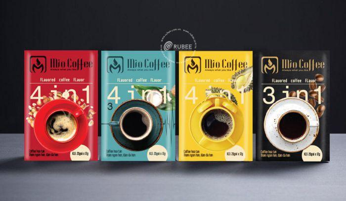 mẫu bao bì cà phê độc đáo