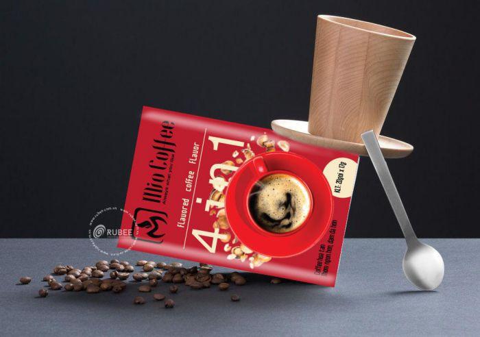 thiết kế bao bì cà phê ấn tượng