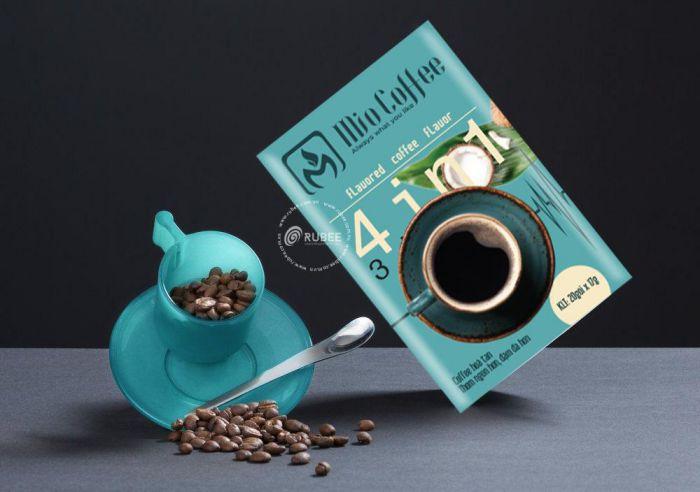 thiết kế bao bì cà phê tại Rubee