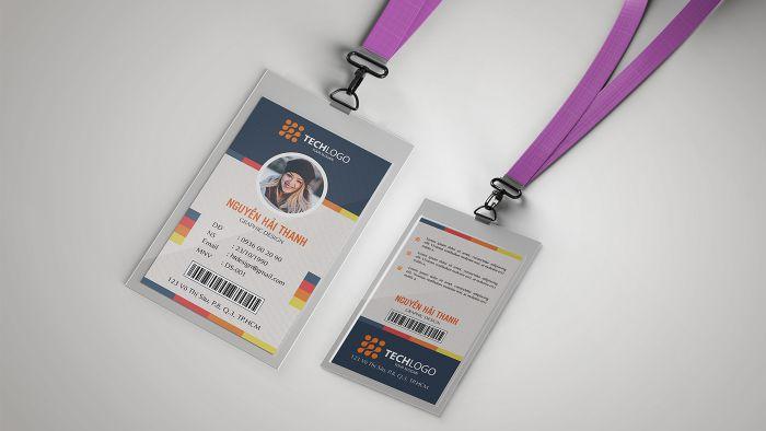 Dịch vụ thiết kế thẻ ban tổ chức