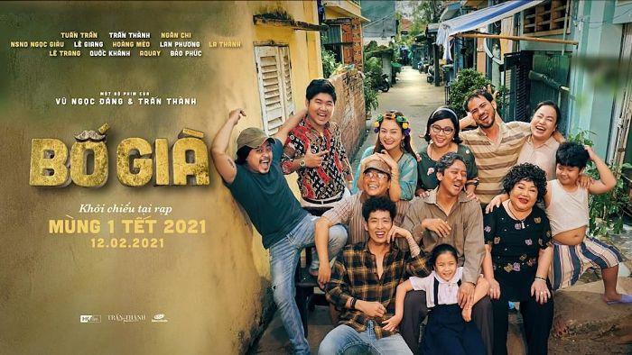 mẫu poster phim Việt Nam